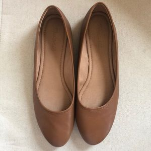 Madewell Brown Ballet Flats - WORN ONCE